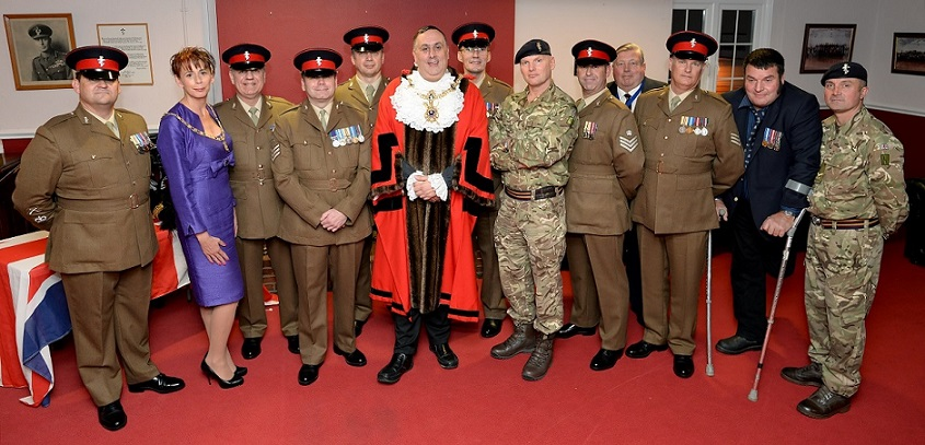 Lord Mayor Of Portsmouth Honours Reserve Service And Commitment