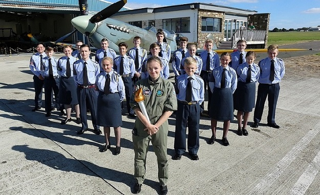 Kent Air Cadets To Take Part In Torch Relay To Mark 75th Anniversary Of Air Training Corps