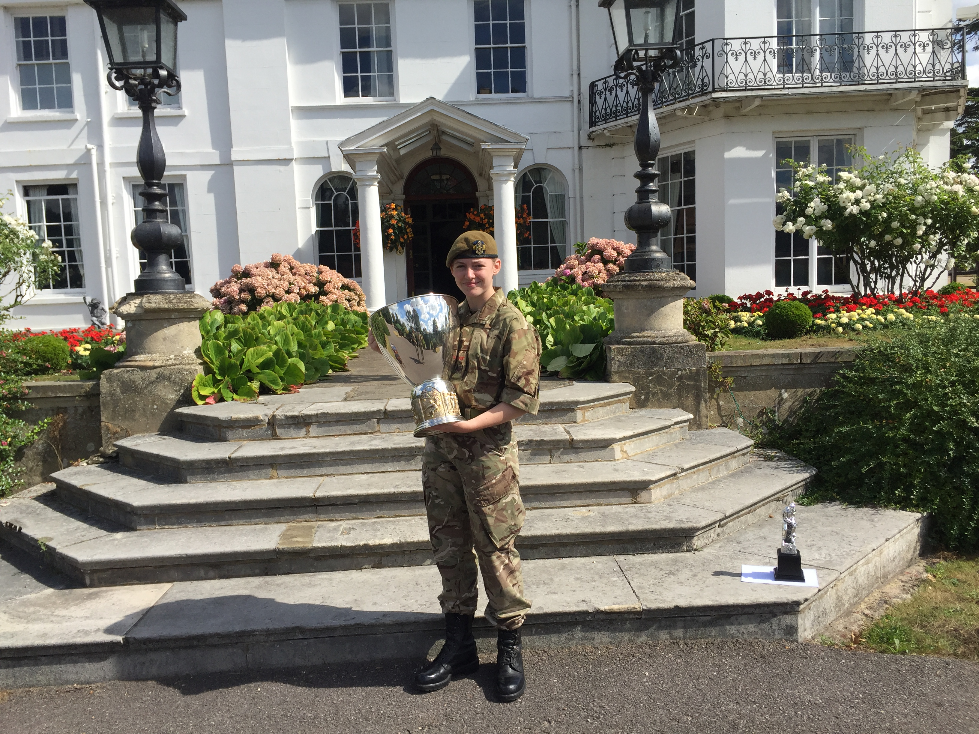 Surrey Army Cadet wins National Competition