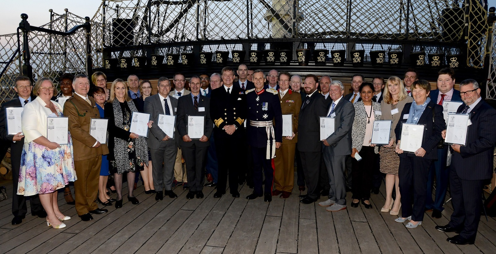 Silver Employer Recognition Awards Ceremony 2017