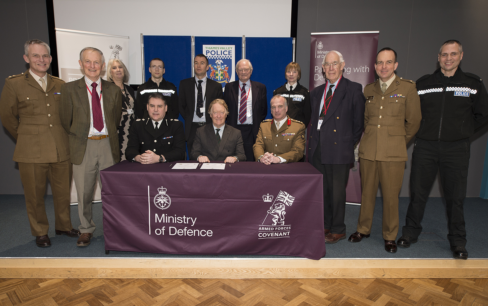 Thames Police Sign Armes Forces Covenant