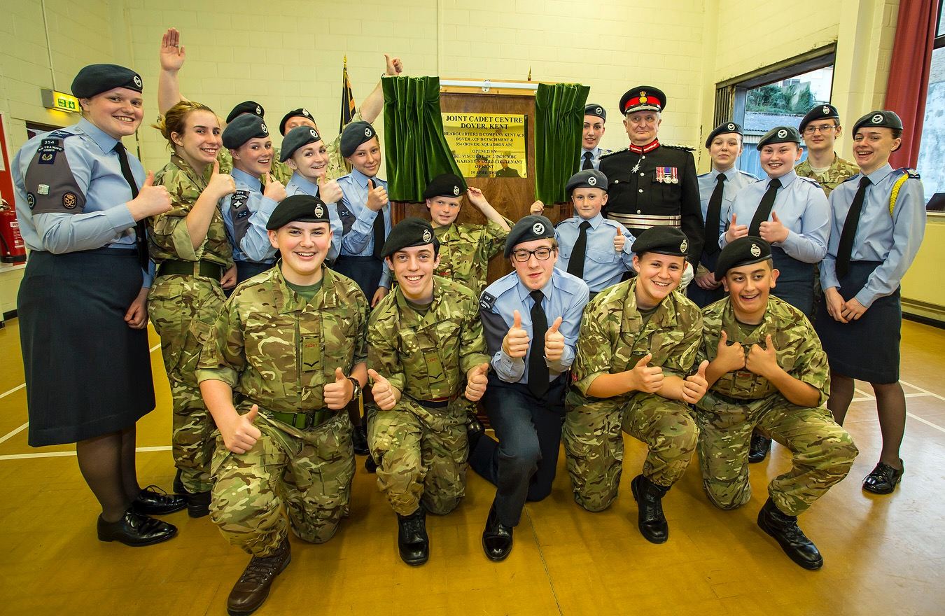 New joint cadet centre for the dover army cadet and royal air force air cadet units