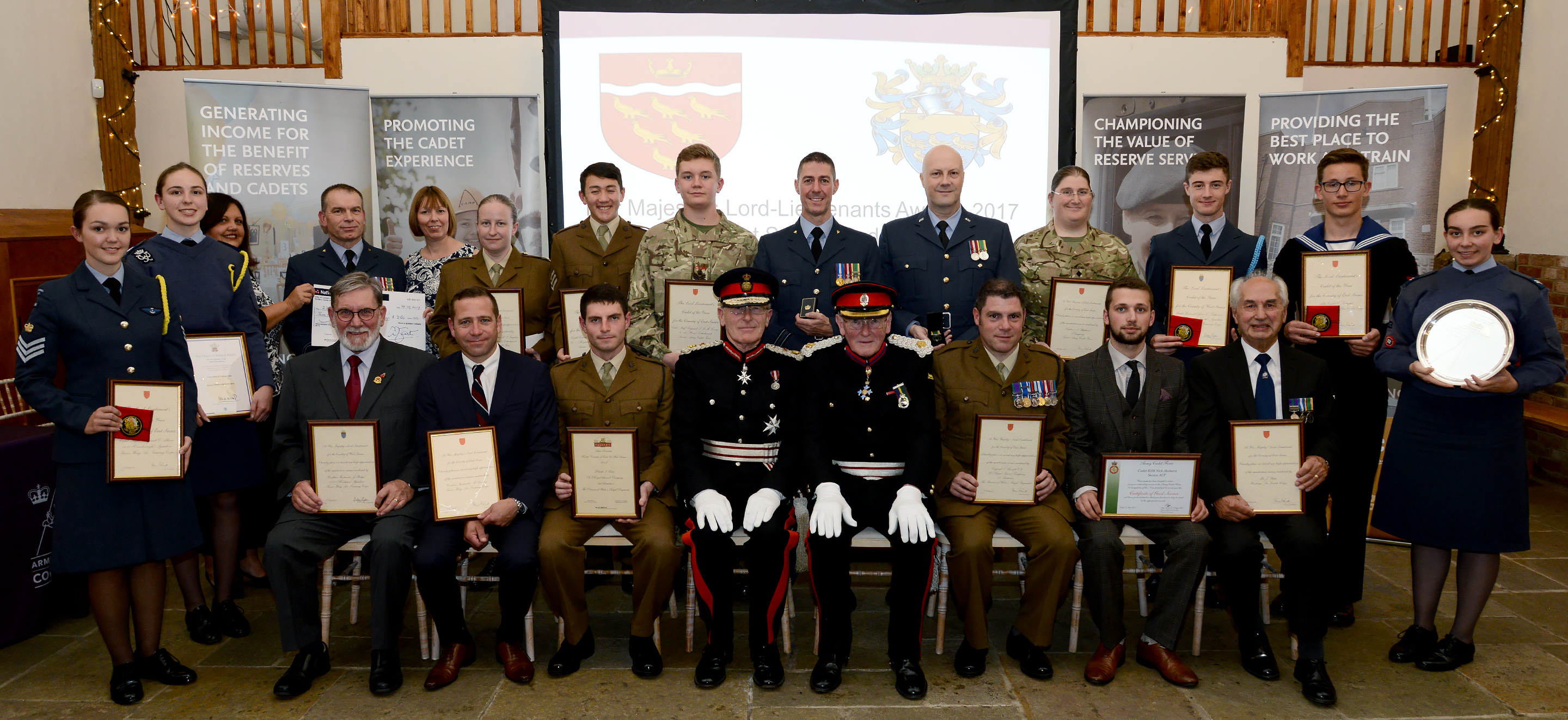 East & West Sussex Lord-Lieutenant's Awards 2017