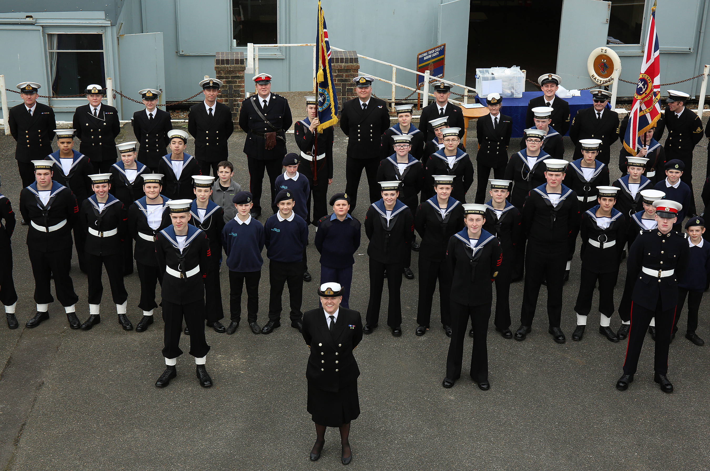 Sea Cadets Compete for District Glory