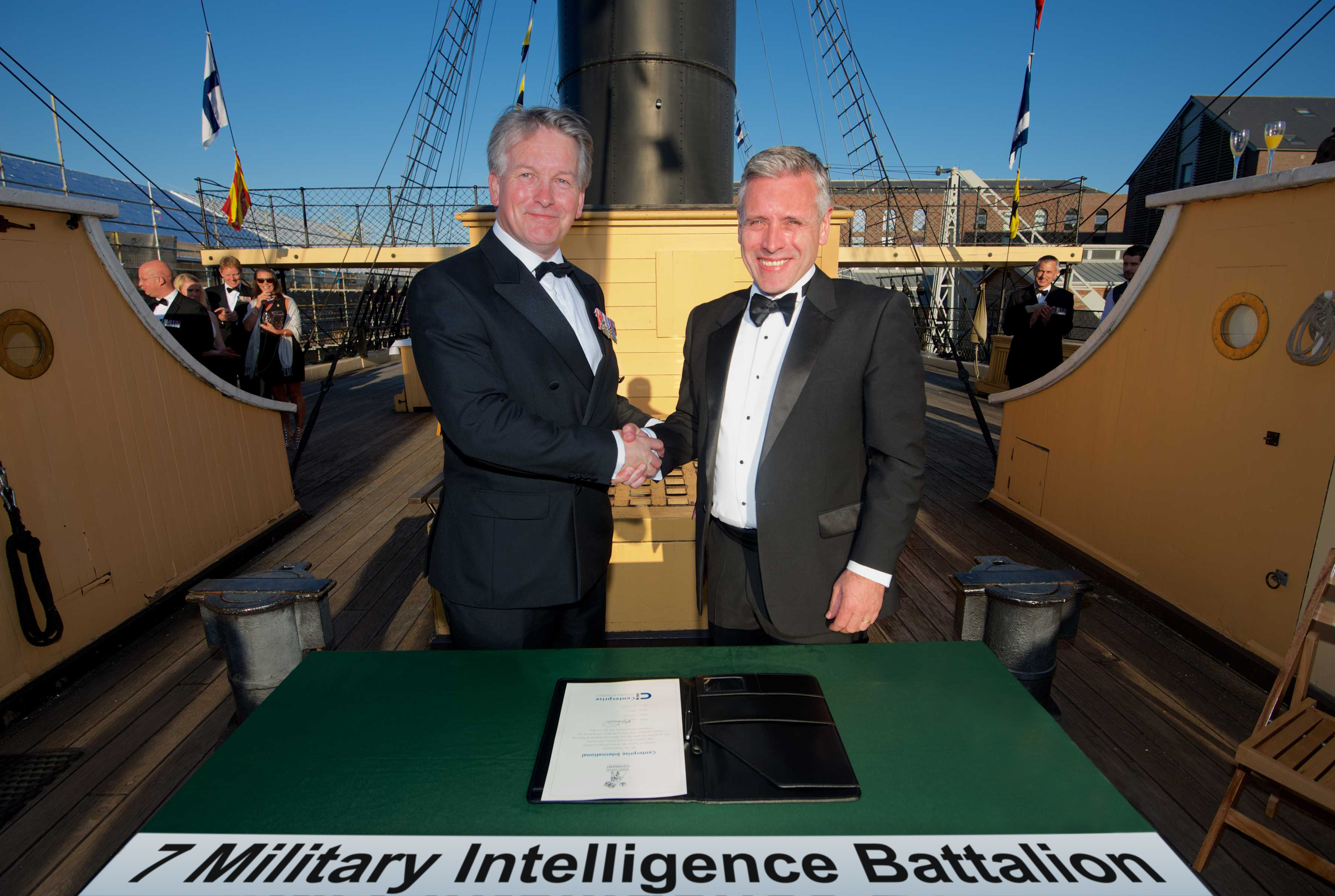 Centerprise International signs the Armed Forces Covenant