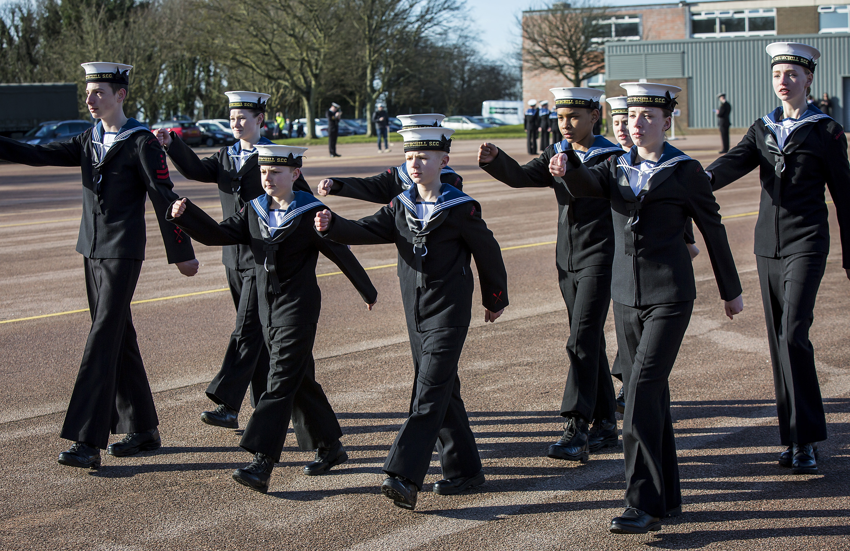 District Drill Competition at Sir John Moore Barracks Folkestone