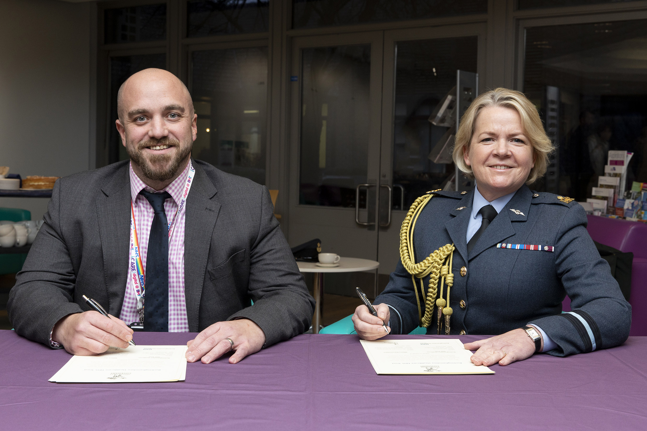 Buckinghamshire Healthcare NHS Trust signs Armed Forces Covenant
