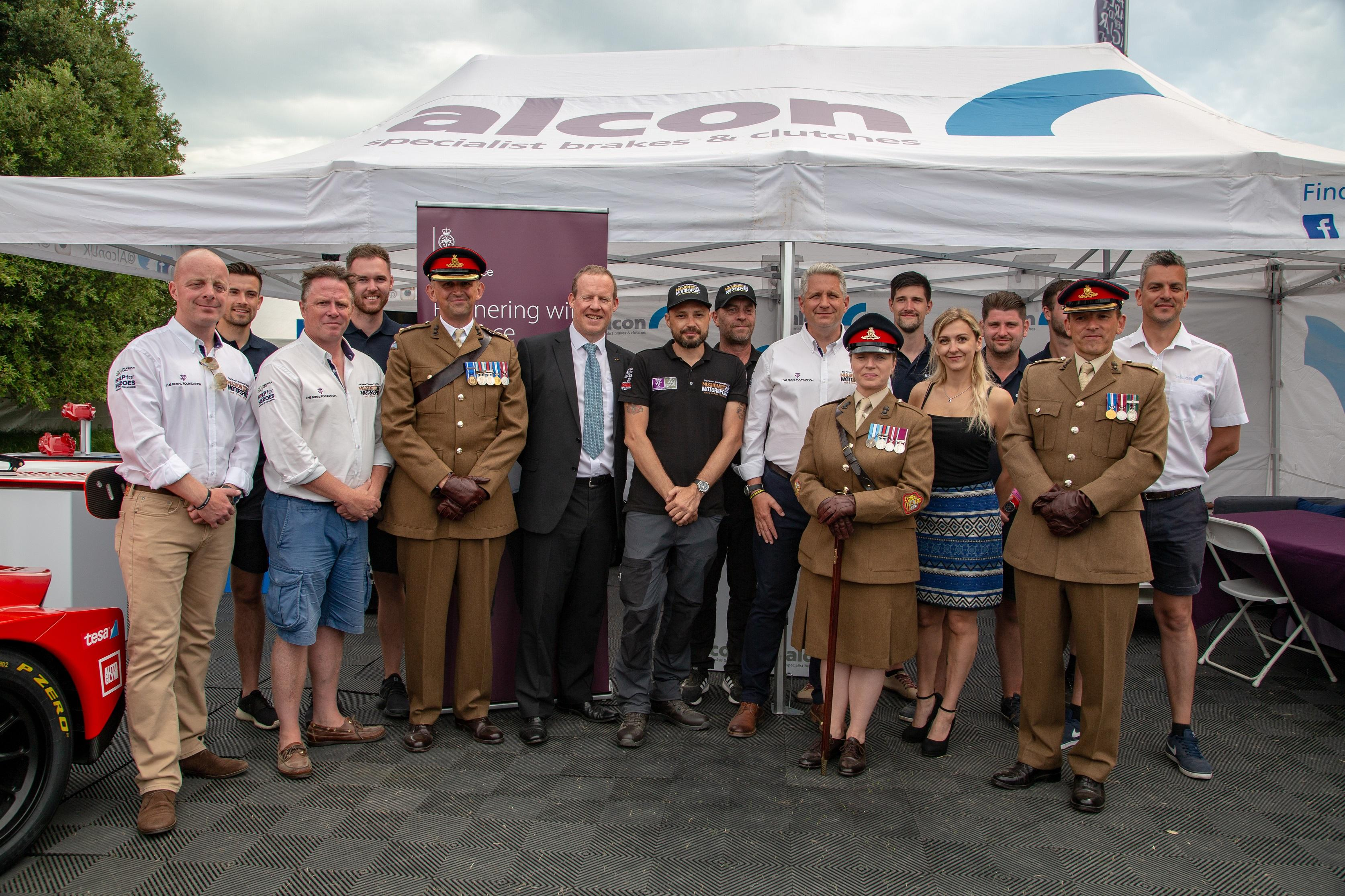 Alcon joins Mission Automotive and signs Armed Forces Covenant