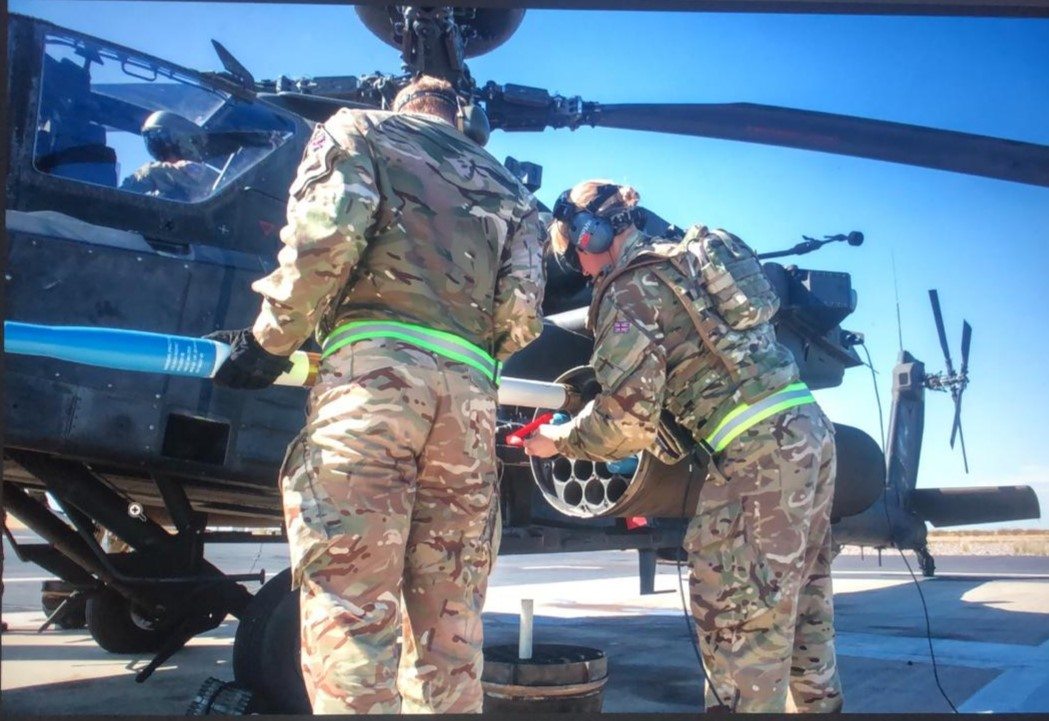 Not your average day for an Army Air Corps Reservist